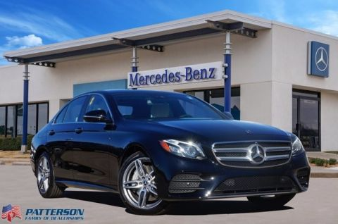New 2020 Mercedes-Benz E-Class E 350 Rear Wheel Drive 4dr Car